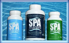 SPA Marvel water treatment supplies