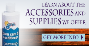 Learn About the Accessories and Supplies We Offer | Get More Info | Cover care and conditioner bottle