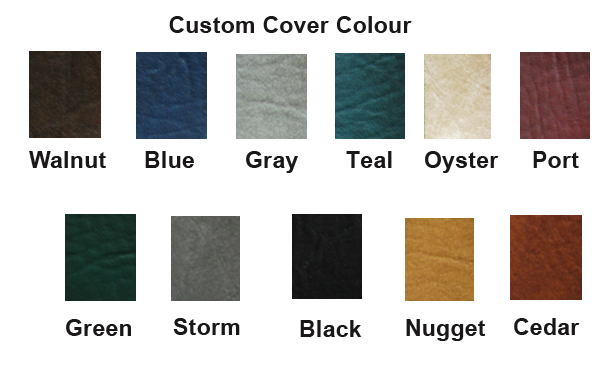 Custom Cover Colour Chart